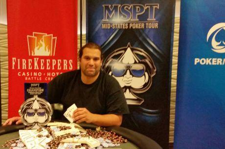 Michael Ferrarotti Wins 2015 MSPT Michigan State Poker Championship