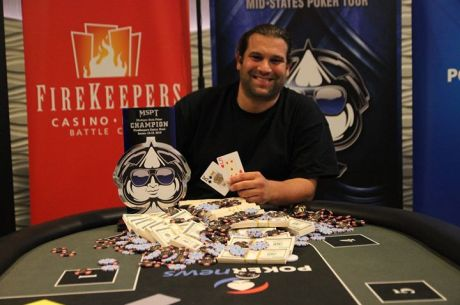 Michael Ferrarotti Wins 2015 MSPT Michigan State Poker Championship