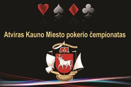 Atviras Kauno miesto pokerio čempionatas - jau nuo lapkričio 1 dienos