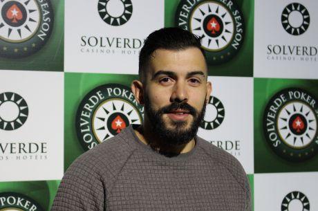 António Almeida e Bruno Cruz Lideram Dia 1 da Etapa 10 Solverde Poker Season