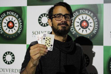 """João """"Megas"""" Silva Vence Main Event da Etapa 10 Solverde Poker Season (€8.086)"""