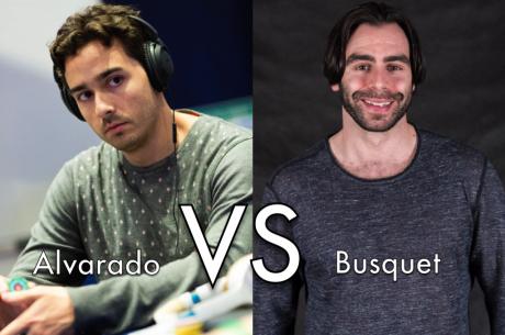 JC Alvarado Vai Lutar Contra Olivier Busquet
