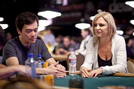 Jen Harman und John Juanda in der Poker Hall of Fame Class of 2015