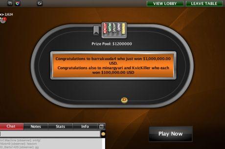 Eesti pokkerimängija võitis miljon dollarit!