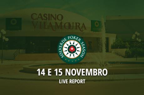 Etapa 11 Solverde Poker Season 14 e 15 de Novembro em Vilamoura