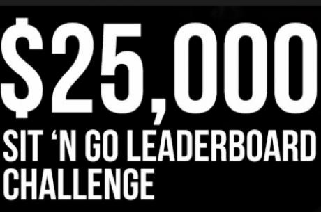 Sit&Go ранглиста за $25к и $10к състезание по точки през...