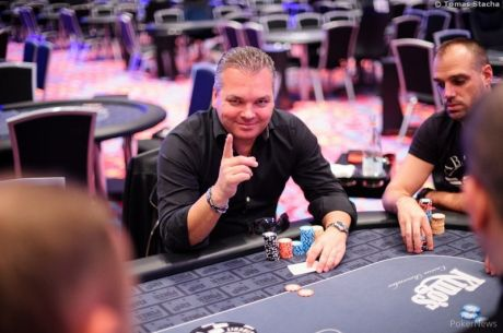 WSOP Circuit King's Casino Rozvadov PLO High Roller Day 1: Jan-Peter Jachtmann Leads