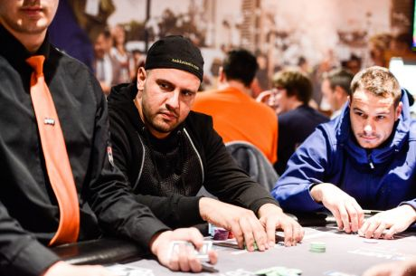 "2015 World Poker Tour UK Main Event Day 1b: Michael ""The Grinder"" Mizrachi Leads"