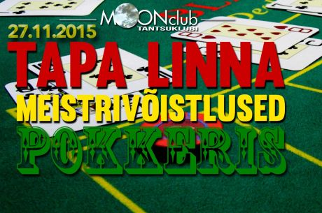 27. novembril selgub esimene Tapa pokkerimeister