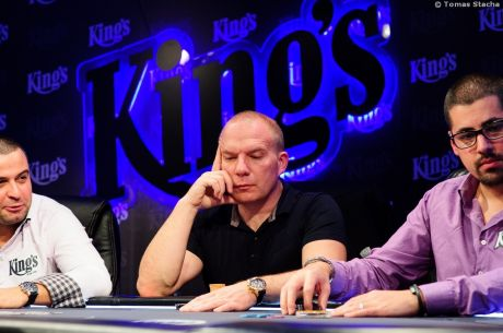 Tomovic vede po prvním dni WSOP Circuit King's Casino €25,000 Super High Roller