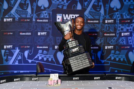 Iaron Lightbourne Wins the 2015 partypoker WPT UK Main Event for £200,000