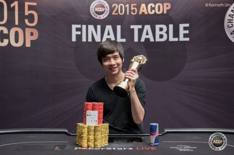 Jimmy Zhou Wins 2015 PokerStars.net APPT ACOP Main Event for Over $750,000
