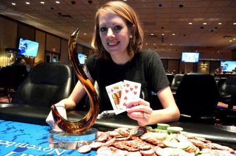 Kristan Mackiewicz Wins Opening Event of the 2015 Seneca Fall Poker Classic