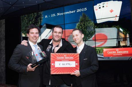 Oliver Bösch gewinnt CAPT Bregenz Main Event