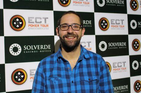 António Domingos Continua na Liderança do Main Event ECT Poker Tour (50 em Jogo)