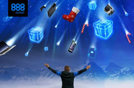 Christmas Is Early at 888poker: Win a Share of $700,000 For FREE