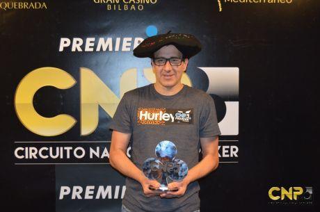 Juan Bolinaga ya tiene compañeros para el Team Pro del Circuito Nacional de Poker 2016