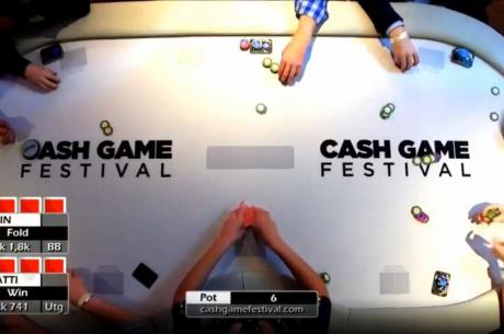 Jälgi Cash Game Festivali telelaua vahendusel