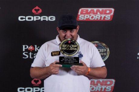 BSOP Millions 750K GTD: Luso Elton Rudi é 46º (€880);Abraão de Santana Vence (€56k)
