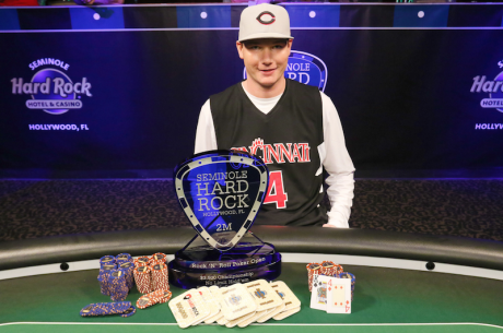 Cincinnati Kid: Jake Bazeley Wins 2015 Seminole Hard Rock Rock 'n' Roll Poker Open