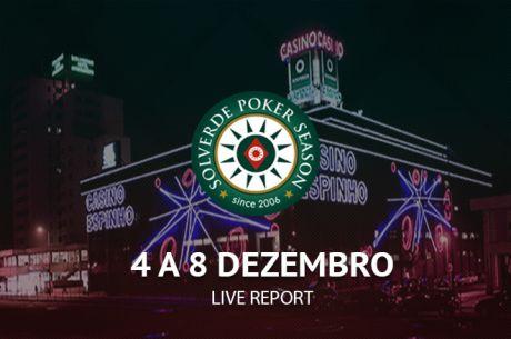 Main Event Solverde Poker Season Arranca Hoje às 21:00