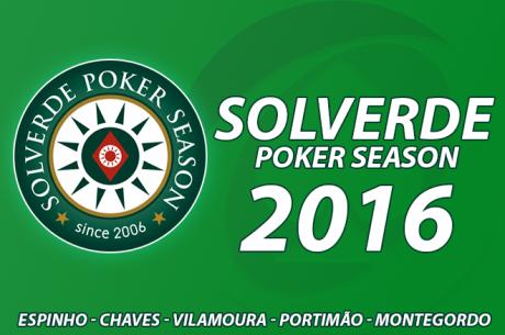 Calendário Solverde Poker Season 2016 - 16 Etapas e Novidades nos Buy-ins