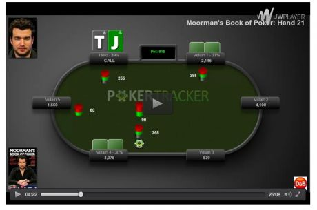 Win a Free Copy of Moorman's Book of Poker Video