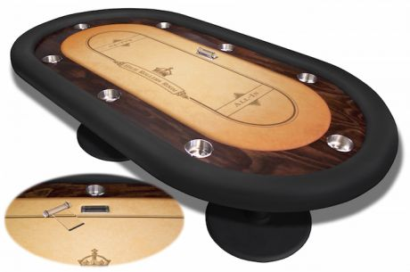 A Custom Table from ProCaliber Poker Makes Our #1 Holiday Gift