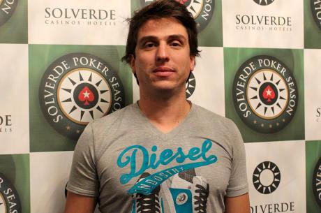 André Moreira Lidera Rumo ao Dia 3 do Main Event Solverde Poker Season