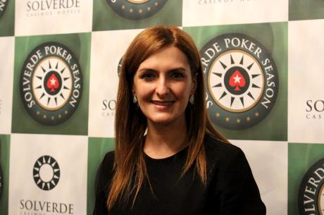Marlene Cerqueira Lidera Main Event Solverde Poker Season Rumo ao Dia 4