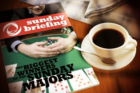 Sunday Briefing: AnyTw0_Card$ Wins the Sunday Warm-Up For $74.5K