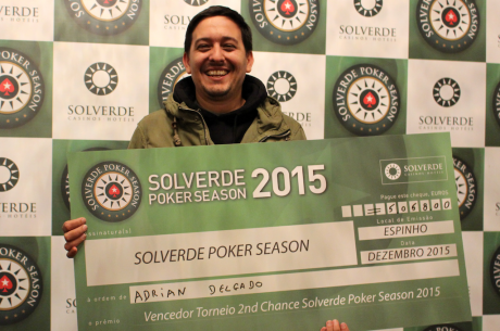 Adrian Delgado Venceu Side Event 2nd Chance (€5.058); Rui Dores Lidera KO Bounty