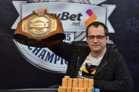 Maxim Panyak Wins TonyBet OFC World Championship €10,000 High Roller