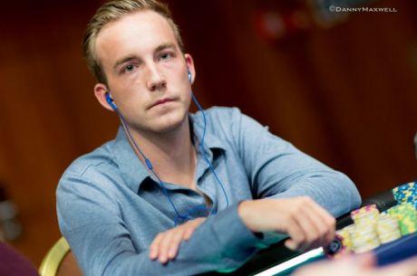PokerNews Boulevard - Luuk Gieles chipleader in €50.000 Super High Roller na openingsdag!