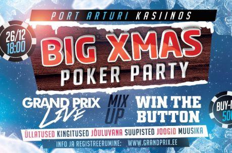 Grand Prix Casino korraldab Pärnus jõulupeo ning turniiri 70 mängijale