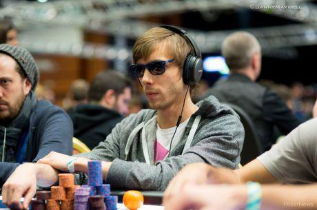 2015 PokerStars EPT Prague €10,300 High Roller Day 1: Smaron & Pyzara Bag Big Stacks