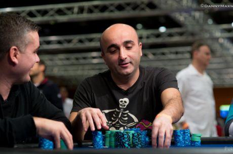 Ilkin Amirov Chip Leader Main Event EPT Praga (6 em Jogo)