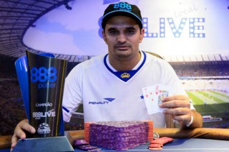 888Live Brazil: Jorge Bié Wins Main Event, Charity Event Attracts Stellar Field