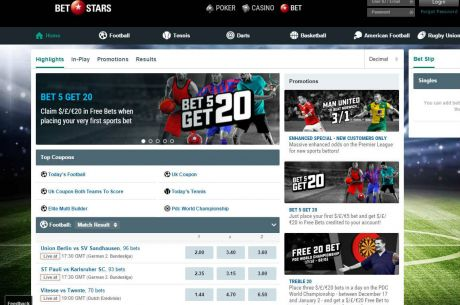 "PokerStars Launches BetStars: ""We're Applying The Same Passion We Have For Poker"""