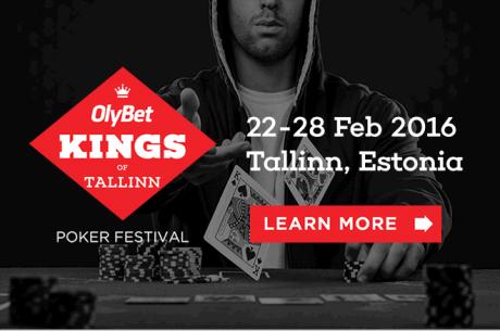 Didžiausias Šiaurės Europos pokerio festivalis grįžta į Taliną 2016 vasarį!