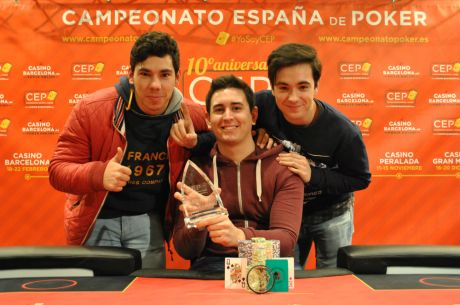 David Sierra gana el CEP Madrid 2015