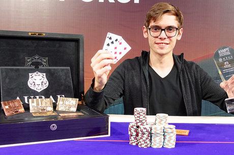 Fedor Holz gana el Triton Super High Roller $200,000 Cali Cup por $3.463.500