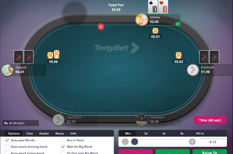 Rake Free Poker, Live Events, Vegas Packages: Say Hello to the All-New Tonybet Poker