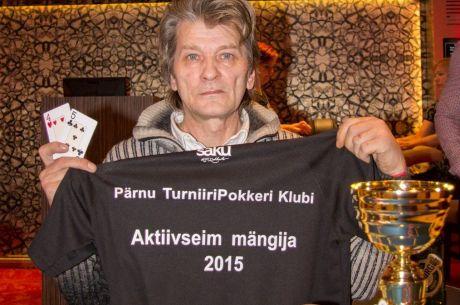 Konstantin Marks võitis teist korda järjest Grand Prix Live Pärnu pokkeriturniiri