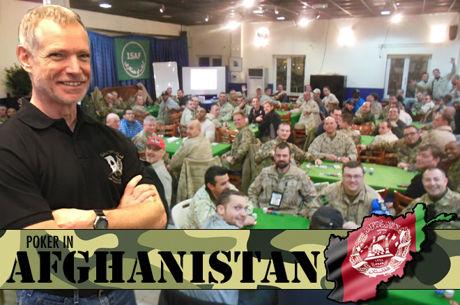 Poker in Afghanistan: Doug Roberts over het wekelijkse pokertoernooi op de NAVO-basis in Kabul
