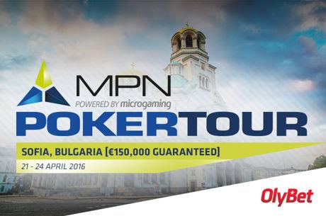 MPN Poker Tour 2016 teine etapp toimub 21-24. aprill Sofias
