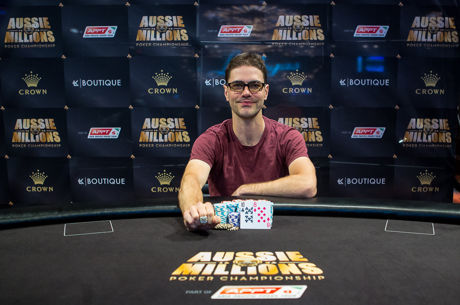 2016 Aussie Millions Day 3: James Obst Wins First Ring