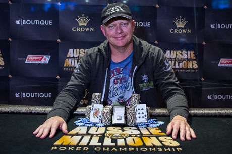 Aussie Millions 2016: Kevin Blackwood Vence Event #1 $1,150 No-Limit Hold'em ($275.300)