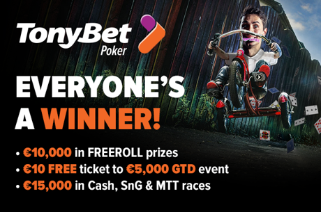 Check Out This Trio Of Terrific TonyBet Poker Promotions