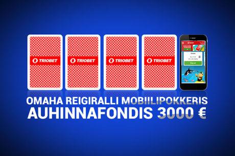 Triobet annab Omaha mobiilimängijatele 3000 eurot